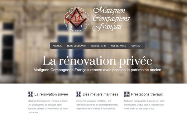 Matignon Compagnons Français